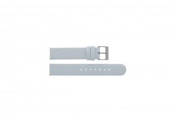 Festina horlogeband F16021/B Leder Wit 18mm
