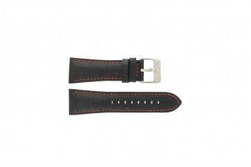 Horlogeband Festina F16235-3 Leder Zwart 28mm