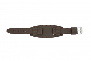Fossil horlogeband JR1395 Leder Bruin 20mm