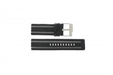 Horlogeband Fossil JR9934 Leder Zwart 26mm