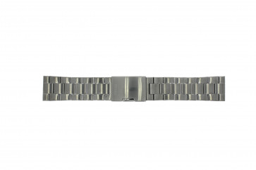 Fossil horlogeband FS4662 / 12XXXX / 25XXXX Staal Antracietgrijs 24mm
