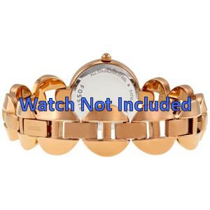 Fossil horlogeband ES-3011 Staal Goud (Rosé) 24mm