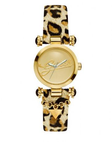 Horlogeband Guess W10619L1 Textiel Bruin