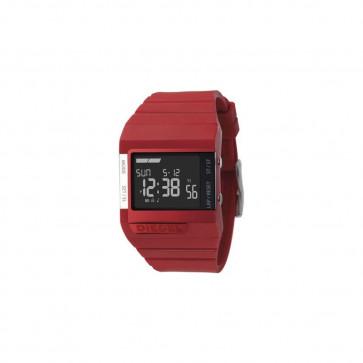 Horlogeband Diesel DZ7132 Silicoon Rood 23mm
