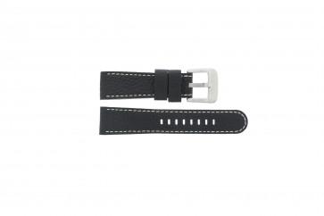 Danish Design horlogeband IQ13Q712 Leder Zwart 20mm