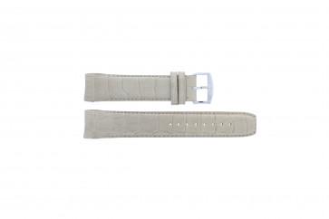 Horlogeband Zodiac ZO2702 Croco leder Beige 22mm