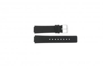 Horlogeband Danish Design IV12Q884 Leder Zwart 14mm