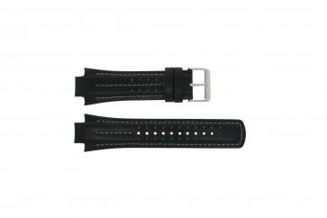 Horlogeband YM62-X236 / PF3971X1 / PH083X Leder Zwart 15mm