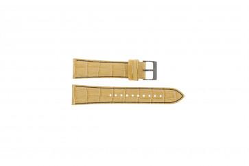Horlogeband Seiko 7T92-0NK0 / SNDD69P1 / L08C012N0 Leder Lichtbruin 22mm