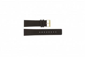 Skagen horlogeband 233XXLGL Leder Bruin 23mm