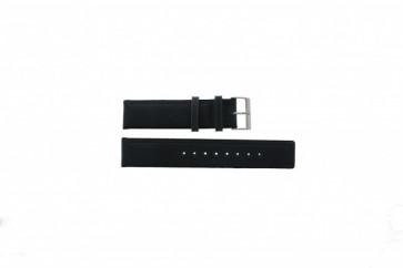 Skagen horlogeband 241LSLC Leder Grijs 20mm + standaard stiksel