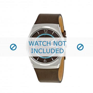 Skagen horlogeband SKW6305 Leder Bruin 28mm