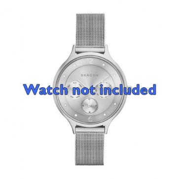 Skagen horlogeband SKW2312 Staal Zilver 14mm
