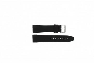 Horlogeband Tommy Hilfiger 679301403 / TH1790833 / TH-175-1-14-1202 / 1403 Leder Zwart 24mm
