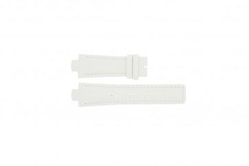 Breil horlogeband TW0394 / F660012788 Leder Wit 12mm + wit stiksel