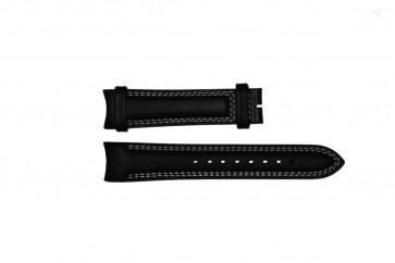 Horlogeband Breil TW0678 Leder Zwart 22mm