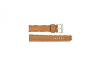 Horlogeband Seiko V172-0AG0 / SSC081P1 / L088011J0 Leder Bruin 21mm