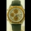 Horlogeband Seiko 7T42 6A0B / SDX014J1 Leder Zwart 20mm