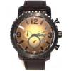 Horlogeband Fossil BQ2080 Leder Zwart 24mm