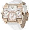 Police horlogeband PL13088JSR-04 Leder Wit + wit stiksel