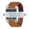 Horlogeband Diesel DZ1049 Leder Cognac 18mm