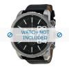 Horlogeband Diesel DZ4208 Leder Zwart 26mm
