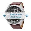 Horlogeband Diesel DZ4290 / DZ1245 Leder Bruin 26mm