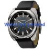 Horlogeband Diesel DZ1247 Leder Zwart 26mm