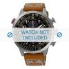 Horlogeband Seiko V176-0AG0 / SSC421P1 Leder Cognac 20mm