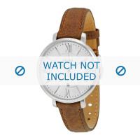 Horlogeband Fossil ES3708 Leder Bruin 14mm
