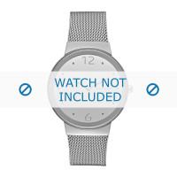 Skagen horlogeband SKW2380 Staal Zilver 18mm