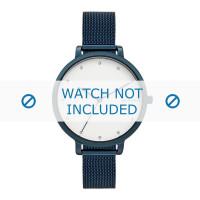 Skagen horlogeband SKW2579 Staal Blauw 12mm