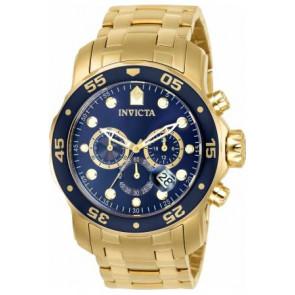 Horlogeband Invicta 0073 / 0072 / 0074 / 0075 / 80064 / 80065 / 80068 / 80069 Staal Doublé