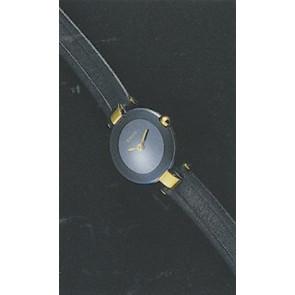 Horlogeband Rado R0120435794020 / R0708568 / Coupole Leder Blauw 10mm