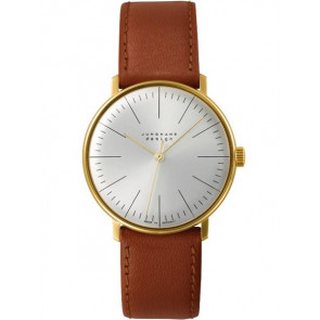 Horlogeband Junghans 027/5703.00 Leder Lichtbruin