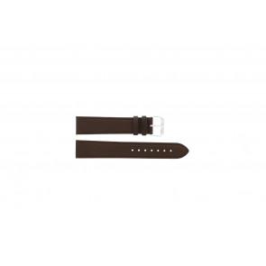 Horlogeband Condor 054L.02 XL Leder Bruin 20mm