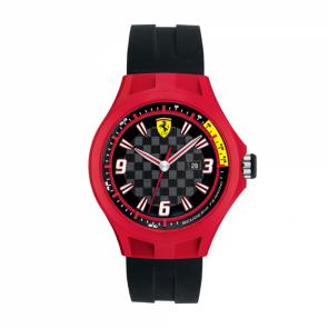Horlogeband Ferrari SF101.1 / 0830006 / SF689300009 Rubber Zwart 22mm