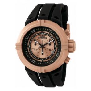 Horlogeband Invicta 0849 (0849.01) Rubber Zwart
