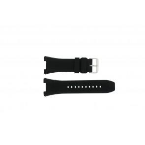 Horlogeband Pulsar PT3449X1 / VD53 X127 / PHG048X Rubber Zwart 14mm