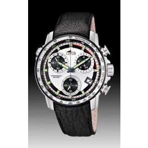 Horlogeband Lotus 10112/1 Leder Zwart