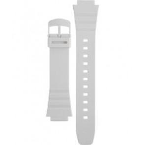 Casio horlogeband 10409325 Kunststof Wit 16mm