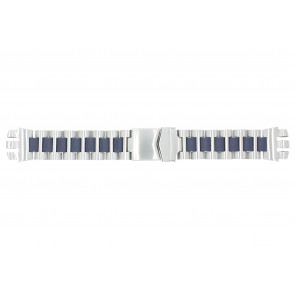 Horlogeband Universeel 1081-BL Staal 21mm