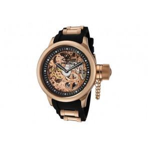 Horlogeband Invicta 1090.01 Rubber Zwart