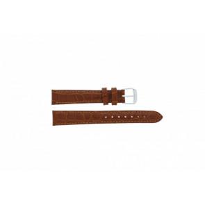 Horlogeband Condor 119R.03 Leder Bruin 18mm