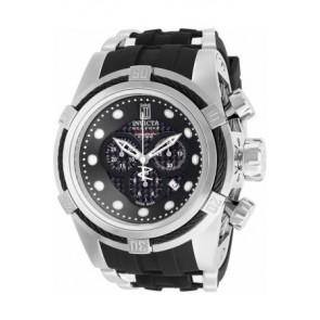 Horlogeband Invicta 12954.01 Rubber Zwart