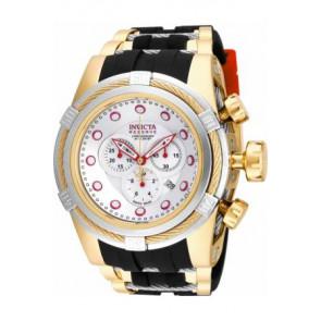 Horlogeband Invicta 14074.01 Rubber Bi-Color 26mm
