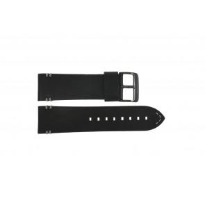 Horlogeband Police PL.14377JSB-02A Leder Zwart 26mm