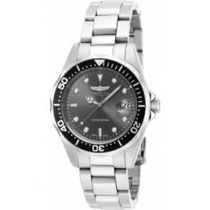 Horlogeband Invicta 8932 / ILE8932A.01 Staal 18mm