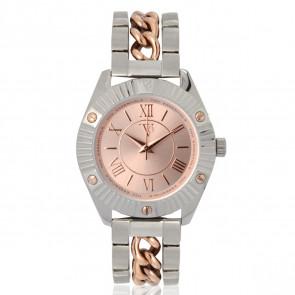 TOV Essentials horlogeband 1464 / TOV Staal Bi-Color 18mm