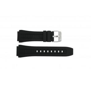 Lotus horlogeband L15743-1 / L15743-2 / L15743-3 / L15743-4 / L15743-5 / L15743-6 / L15743-7 / L15743-8 Rubber Zwart